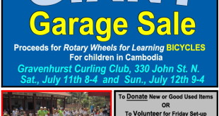 Giant Garage Sale - July 11 and 12